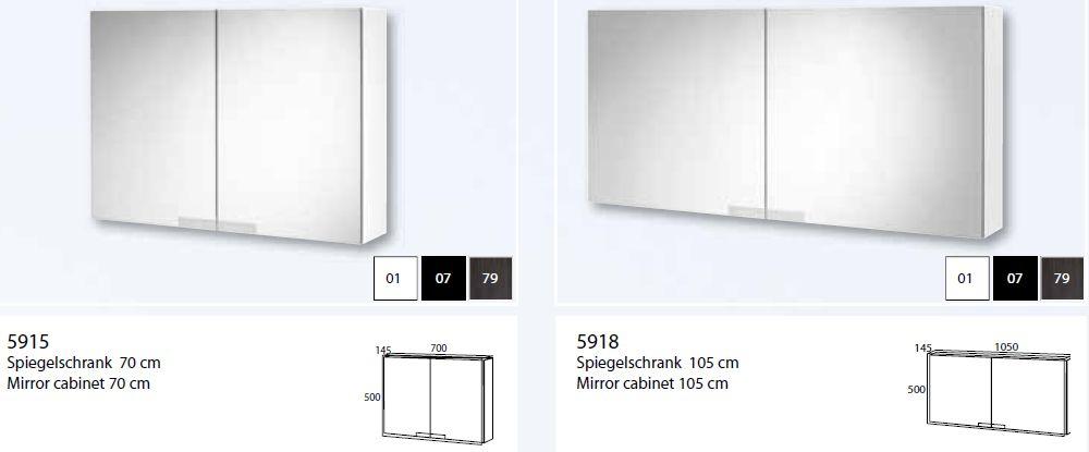 Sehr Gut Spiegelschrank 60 X 50 - Badezimmer 2016 NA36