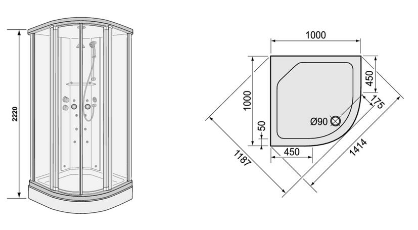 Duscholux duschkabine montageanleitung smartpersoneelsdossier - Duscholux duschwand montageanleitung ...
