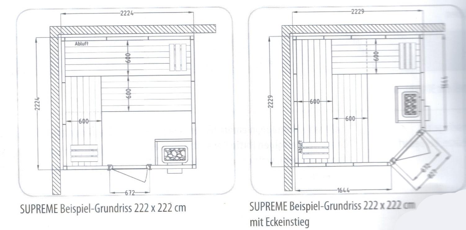 wellness produkt massivholzsauna helo helo design sauna supreme ihr. Black Bedroom Furniture Sets. Home Design Ideas