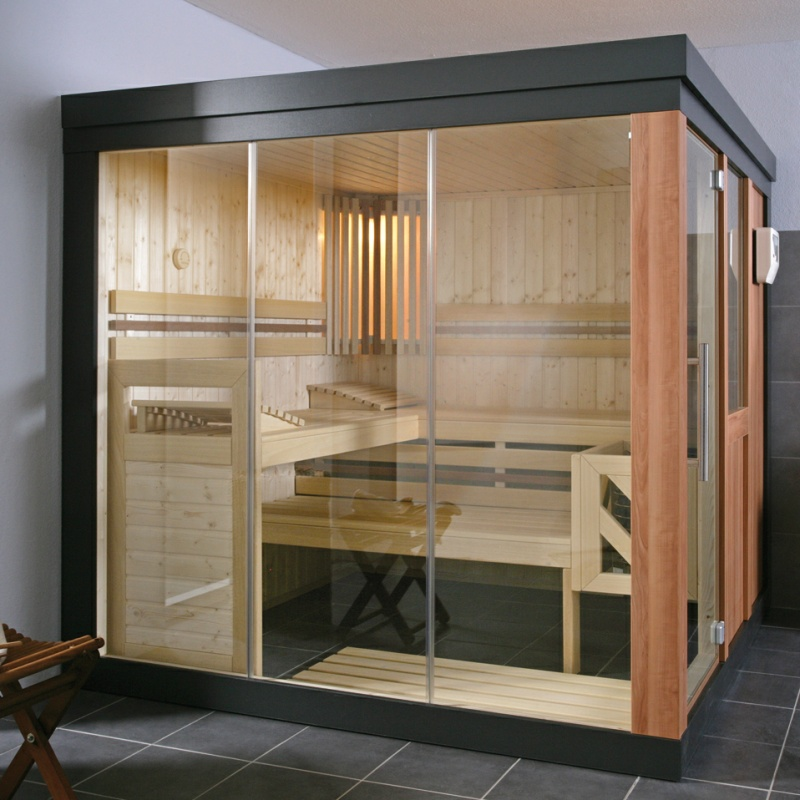 wellness produkt elementsauna helo helo design sauna spring ihr. Black Bedroom Furniture Sets. Home Design Ideas