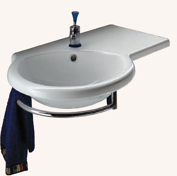 wellness produkt keramikserie drop waschtisch waschbecken drop 77 x 49 8 cm. Black Bedroom Furniture Sets. Home Design Ideas