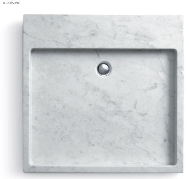 wellness produkt waschtische und schalen kohler kohler puristic waschtisch. Black Bedroom Furniture Sets. Home Design Ideas